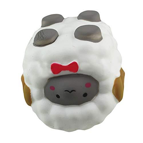 Goodman Adorable ovejas blandas, juguete de elevación lenta, mini juguetes para aliviar el estrés, juguetes para niños y adultos, colecciones de regalos de cumpleaños
