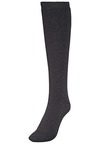 Woolpower - Chaussettes hautes - noir (Taille cadre: 36-39) chaussettes de compression