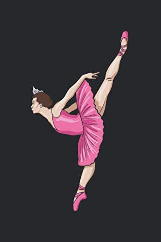 Ballerina Leg Up: 6x9 Ruled Notebook, Journal, Daily Diary, Organizer, Planner