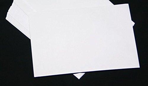 50 Stück Versandtaschen Briefumschläge B5 weiß Haftklebung 176x250 mm HK ohne Fenster