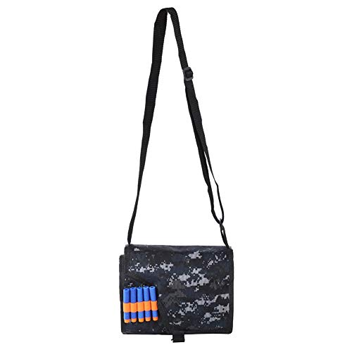 FTVOGUE Oxford Tuch Weiche Bullet Storage Schulter Messenger Bag für NERF Blaster(Small)