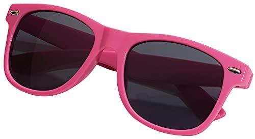 TOPICO Gafas de Sol Unisex Juvenil estilosas, Color Rosa, 58 x 15 x 7 cm