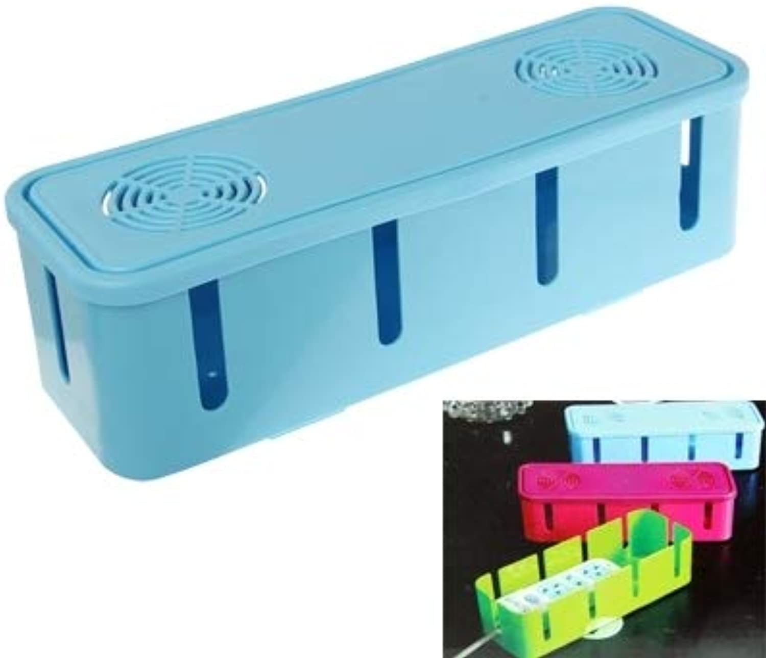 Beautify Storage Organizer Box Electric Power Wire Cable Winder Socket, Size  265 x 88 x 75mm Practical