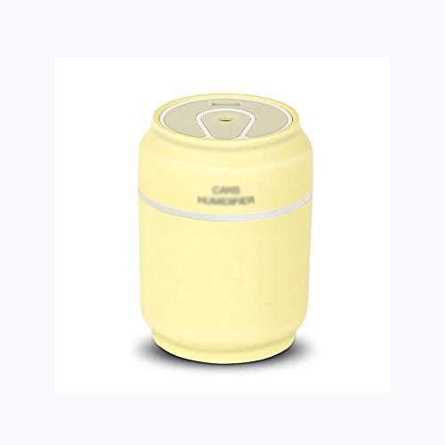 XZJJZ Aroma Diffuser Dosen Auto Luftbefeuchter Mini Luftreiniger Aromatherapie ätherisches Öl Diffusor LED-Nachtlicht USB-Ventilator Fogger (Color : D)