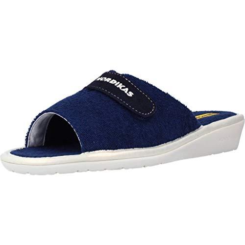 Nordikas Zapatillas Casa Mujer 107931 para Mujer Azul 36 EU