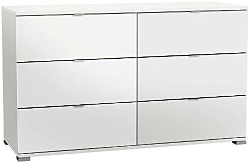 Kommode Weiß Anrichte Schrank Sideboard Schubladenkommode Highboard Standschrank Aufbewahrung Jugendzimmer Schlafzimmer