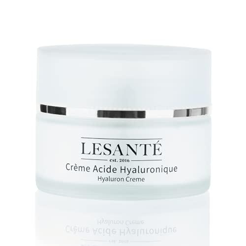 Lesanté Vegane Hyaluronsäure Anti Aging Tagescreme 50ml – Feuchtigkeitscreme für das Gesicht...