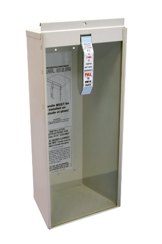 Kidde Surface-Mount 5-Pound Fire Extinguisher Cabinet | Model 468041