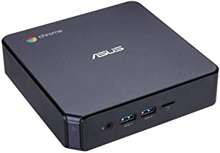 ASUS CHROMEBOX3-NC356U Mini PC with Intel Celeron, 4K UHD Graphics and Power Over Type C Port, Star Gray