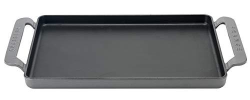Chasseur - PUC335208 Rechteckige Plancha, Gusseisen, Caviar, 42 x 24 cm