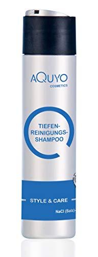 Style & Care Tiefenreinigung Shampoo zur Haarpflege, entfernt Klebereste und Rückstände aus dem Haar (250ml)   Reinigungsshampoo und Pflegeshampoo ein Einem   ohne Silikone, Salze oder Parabene