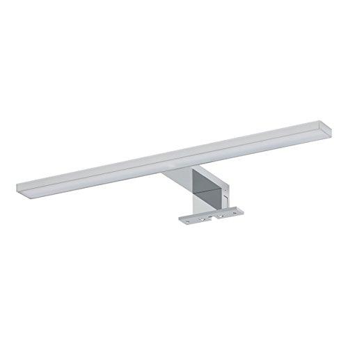 Tiger LED lampa łazienkowa Aurel, lampa do montażu na lustrze lub szafce z lustrem, metal, chrom, 40 cm, 6100 K (białe światło dzienne), IP 44