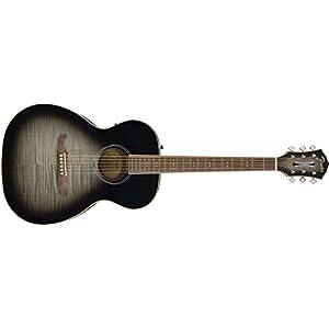 Fender FA-235E Concert Bodied Acoustic Guitar - Moonlight Burst 6