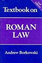 Textbook on Roman Law (2nd, 97) by Borkowski, Andrew [Paperback (2002)]