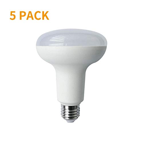 Aigostar 186456 A5 R90, Luz LED 15W E27, 6400K, 230V, 1180lm, 50Hz, No regulable, 5pcs