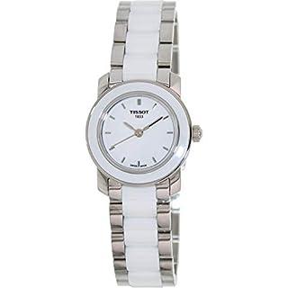 Tissot Women's T0642102201100 Cera Silver-Tone Ceramic Watch (B004R1R1XW) | Amazon price tracker / tracking, Amazon price history charts, Amazon price watches, Amazon price drop alerts