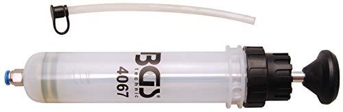 BGS 4067 | Handpumpe | 200 ml | geeignet für Motor-, Getriebe-, Hinterachsöl und Kühlflüssigkeit