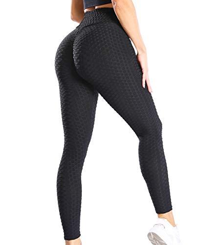 KIWI RATA Mallas Push up Mujer Leggins Deportivos Yoga Leggings de Cintura Alta Pantalones Deporte para Fitness Running Elásticos y Transpirables