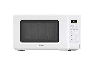 Kenmore Small 70712 Countertop Microwave, 0.7 cu. ft, White