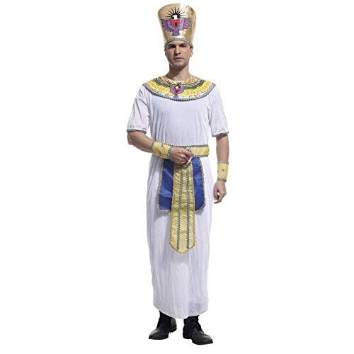 HBJP Cosplay del faraón Egipcio, Disfraz de Cosplay for Hombre ...