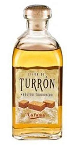 Licor de Turrón - Marca'La Fama' - 500ml - 20% alc