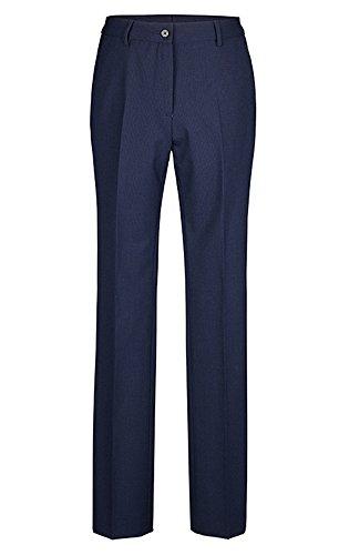 GREIFF Damenhose mit hoher Leibhöhe   Gerader Beinverlauf   2 Seitentaschen   Farbe: Royalblau   Größe: 52