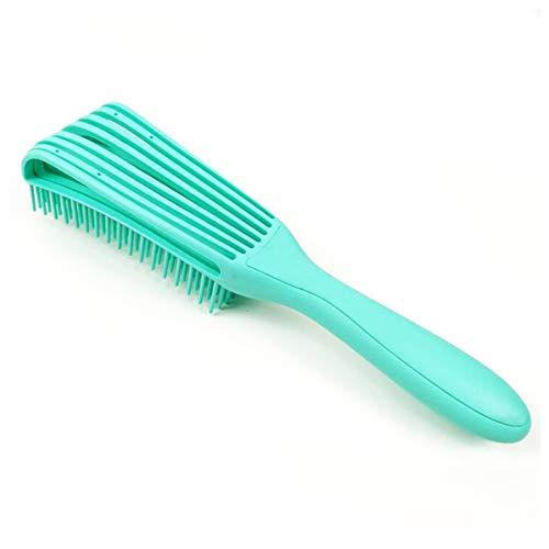 SACALA Brosse à cheveux démêlante pour cheveux naturels ou frisés ondulés, doux et unisexe, pour cheveux afro 3A à 4C