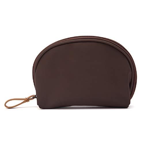 Sac cosmétique de Maquillage de Dames de Stockage de Sac cosmétique avec l'embrayage portatif imperméable FANJIANI (Color : Orange)