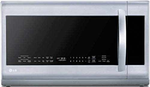 LG LMHM2237ST 2.2 Cubic Feet Over-The-Range Microwave Oven, Stainless Steel (Renewed)