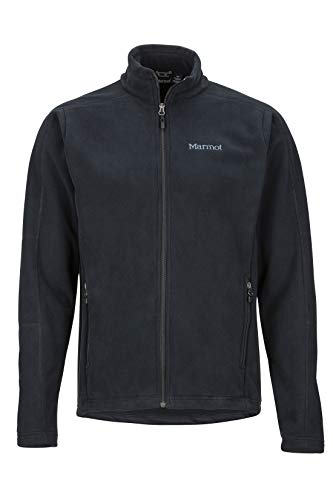 Marmot Herren Fleecejacke Outdoorjacke, Atmungsaktiv Verglas, Black, M, 81350