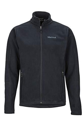 Marmot Herren Verglas Fleecejacke Outdoorjacke, Atmungsaktiv, Black, L