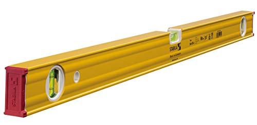 STABILA waterpas serie 80 AS 80 cm mit 2- Vertikallibellen geel