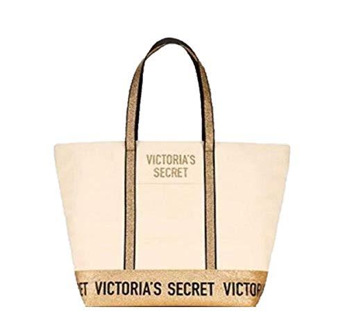 Victoria Secret Tragetasche, groß, goldfarben
