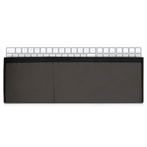 kwmobile Fodero 3in1 Compatibile con Apple Magic Keyboard Senza Tastierino Numerico - Custodia Tastiera Magic Keyboard - Tasca Trackpad 1/2 e Mouse 1/2 - Grigio Scuro