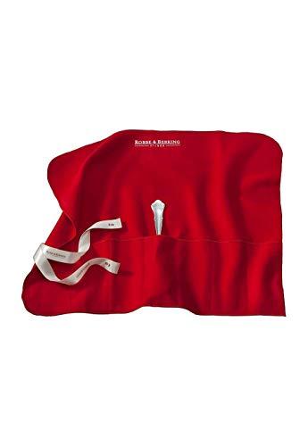 Robbe & Berking Bestecktasche aus Stoff. Aufbewahrung für versilberte und Silberne Bestecke. Schützt Silberbesteck vor Kratzern und kann das Anlaufen verhindern. (6 große Vorlegeteile)