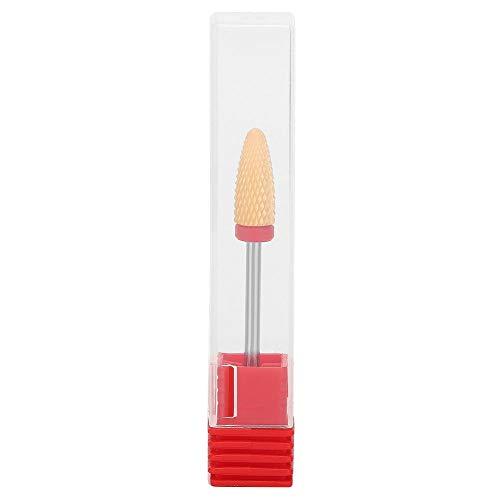 Punte Fresa Unghie Ceramica, Punte per trapano per unghie, testina per lucidatura per unghie, testina per lucidatura professionale per manicure(021LH)