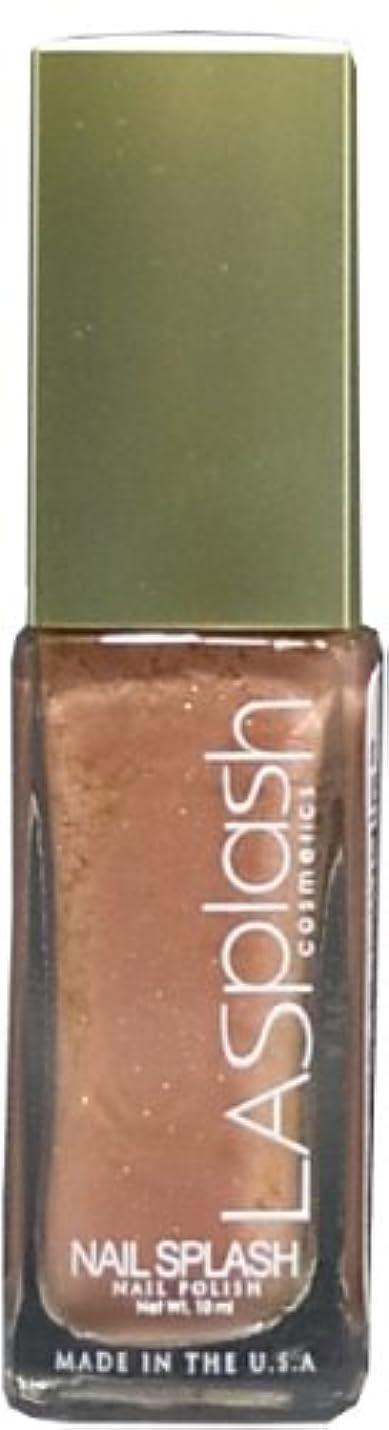 平らにするしゃがむ慣れているLASplash ネイルカラー 104G Starlight Sand