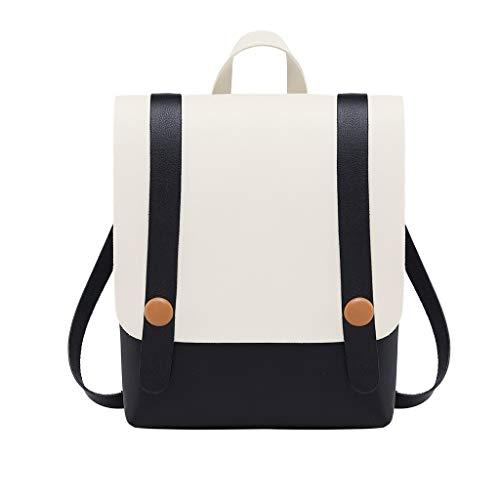 YWLINK Damen Klassisch Retro UmhäNgetasche Diagonalpaket Rucksack Multifunktionstasche Schulrucksack StraßE Teenagers MäDchen Mode Daypacks