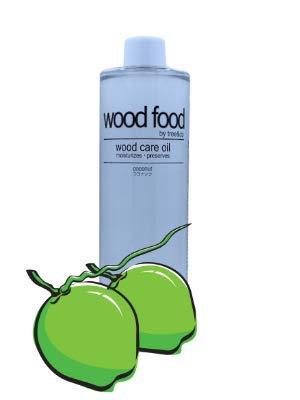 Wood Food I 木材油 I オイル (ココナッツ, 400ML)