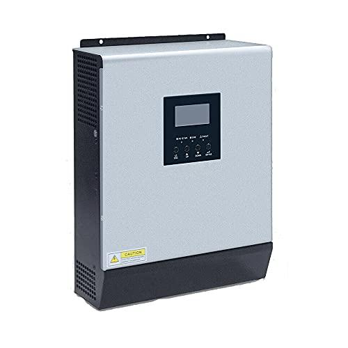Y&H 3000W 24V Inversor híbrido de onda sinusoidal pura fuera de la red Controlador de carga solar PWM incorporado