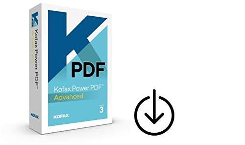Kofax (ehemals Nuance) Power PDF 3.0 Advanced|1PC/WIN|Vollversion|unbegrenzte Laufzeit|Aktivierungscode per Post [Lizenz][KEINE CD][NO