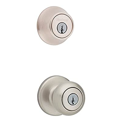 Kwikset 690 Cove Entry Knob and Single Cylinder Deadbolt Combo Pack