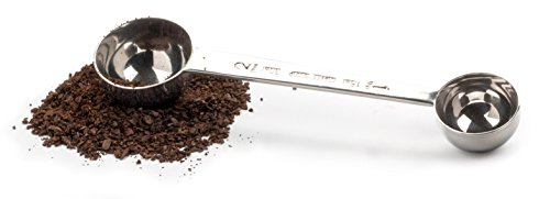 RSVP Stainless Steel Double Espresso Coffee Scoop Measure
