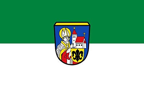 Unbekannt magFlags Tisch-Fahne/Tisch-Flagge: Altomünster, M 15x25cm inkl. Tisch-Ständer