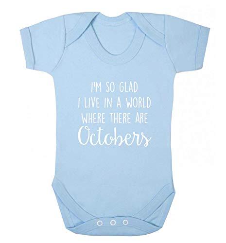 Flox Gilet créatif pour bébé World of Octobers - Bleu - XS