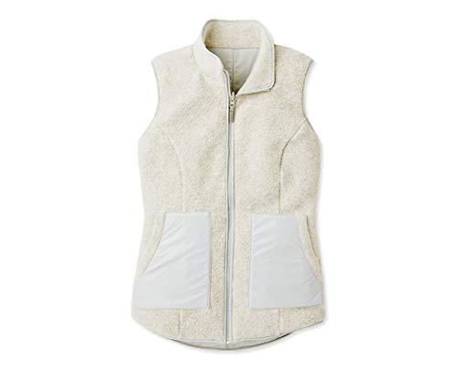 SmartWool Women's Reversible Sherpa Vest - Anchor Line Merino Wool Outerwear