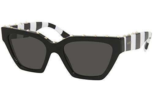 Valentino gafas de sol VA4046 515387 humo negro tamaño de 53 mm de las mujeres