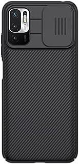 "ALSAFWAH Case For Xiaomi Note 10 (5G), Nillkin Camera Protection Case For Xiaomi Note 10 (5G) [6.5"" 2021] Camshield Slidin..."