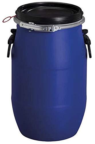 Kunststoff-Weithalsfass PE 30 L blau m. UN-Kennzeichnung