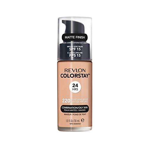Revlon ColorStay Makeup Foundation für Mischhaut und ölige Haut SPF15#220 Natural Beige 30ml